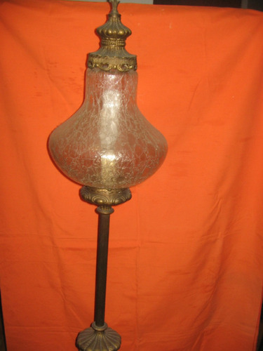 bellisima lampara de bronce