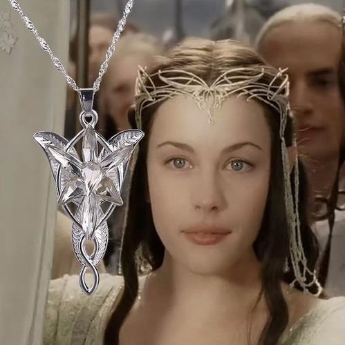 bellisimo ! collar arwen señor de los anillos amor swarovski