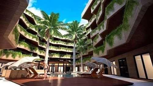 bellísimo departamento residencial en playa del carmen