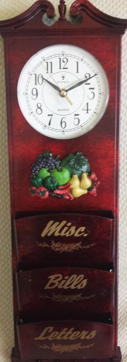 Bellisimo reloj de pared de cocina bs en - Reloj de pared para cocina ...