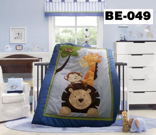 bellisimos edredon acolchado lenceria  del bebe 10 piezas