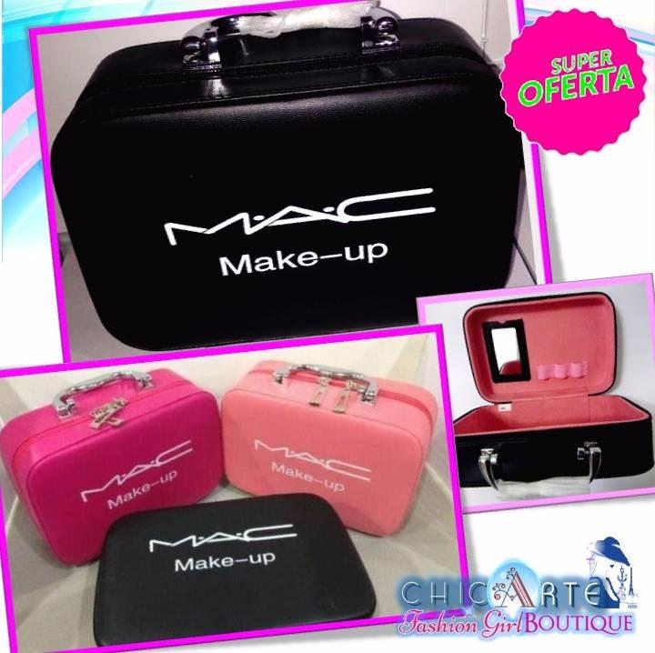 2b2ea7129 Bellisimos Portacosmeticos Maquillaje Mac Tipo Baul Neceser - Bs. 0 ...