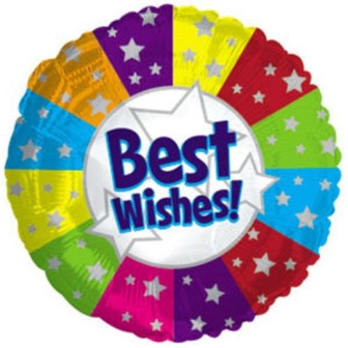bello globo metalizado de 9 mis mejores deseos cumpleaños