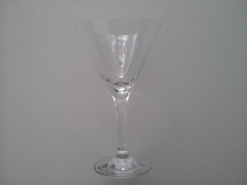 bello juego de 6 copas para cóctel