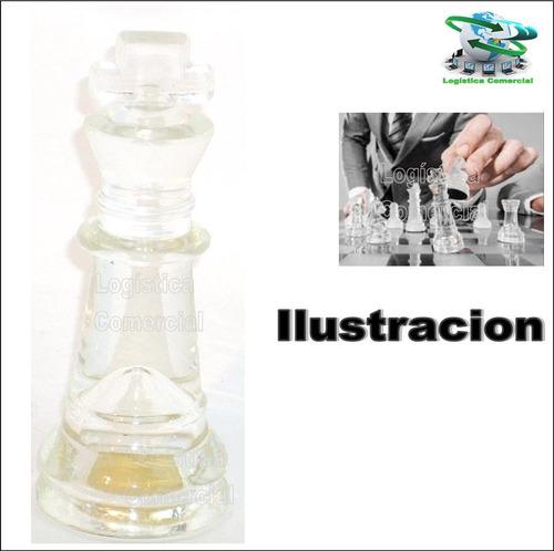 bello juego de mesa ajedrez  tablero y piezas de vidrio