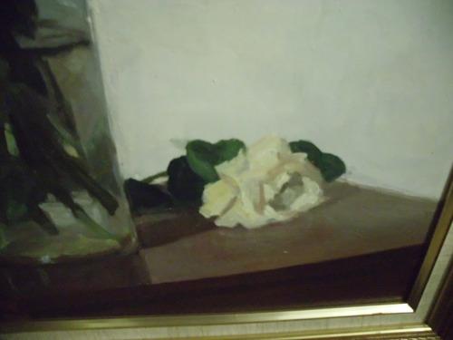 bello oleo sobre madera del pintor jose canelones de 67 x 75