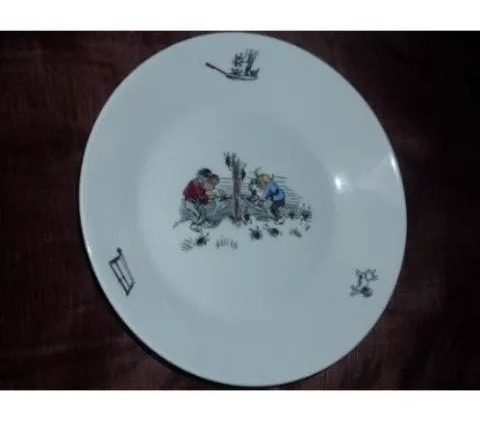 °bello plato de porcelana s p m bavaria germany extraordinar