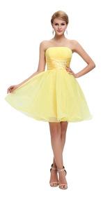 diversos estilos comprar mejor predominante Bello Vestido De Fiesta, 15 Años, Egresos, Corto