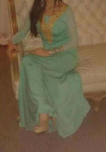 bello vestido de fiesta