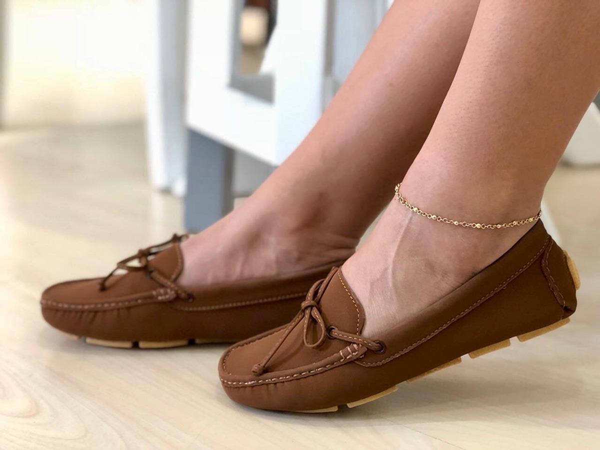 d5e8f5a7778 Bello Zapato Tipo Mocasin De Dama Con Calidad
