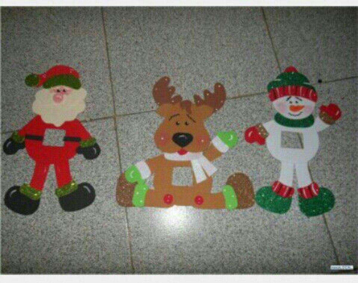 Decoracion de navidad en foami - Decoracion de adornos navidenos ...