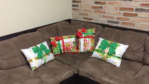 bellos cojines navideños