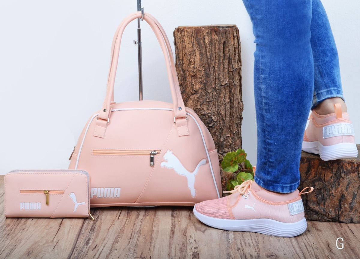 d2f6b9dc4 Bellos Combos Zapatos+bolso+cartera Para Mujer Envio Gratis ...