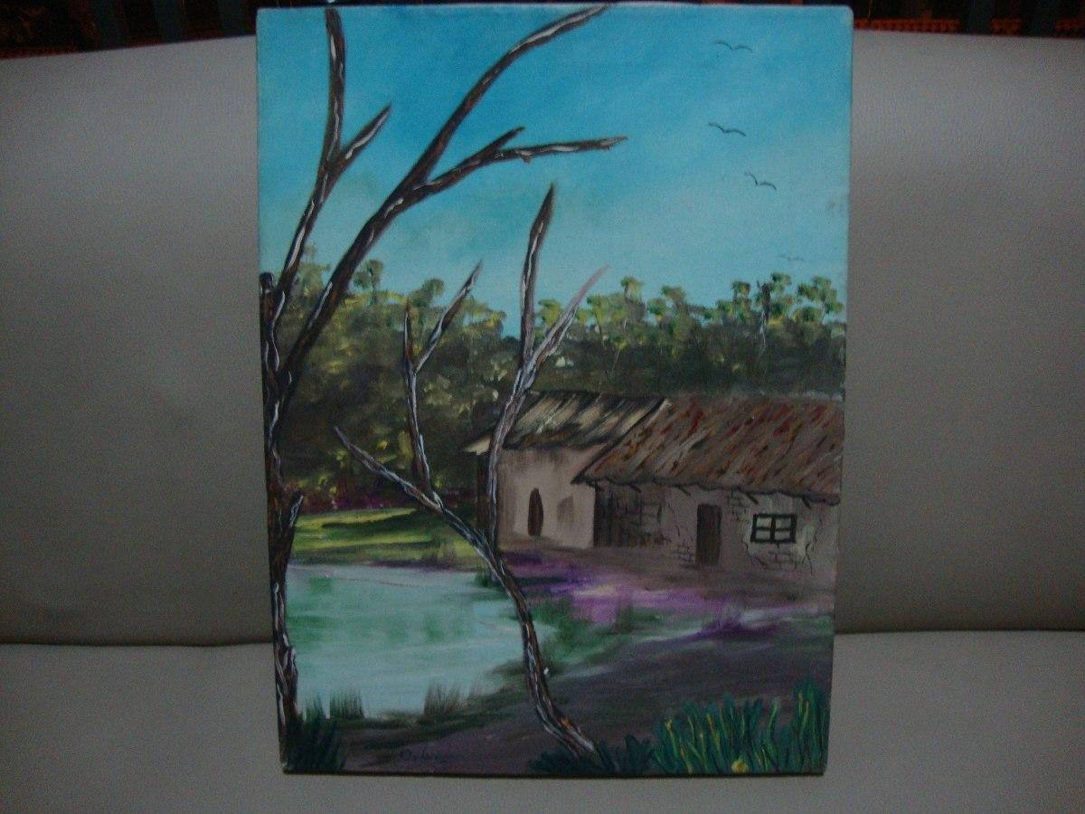 Bellos cuadros modernos pintados al oleo bs for Ideas para pintar cuadros