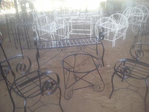 Bellos muebles para jard n y porche hierro forjado oferta - Oferta muebles de jardin ...