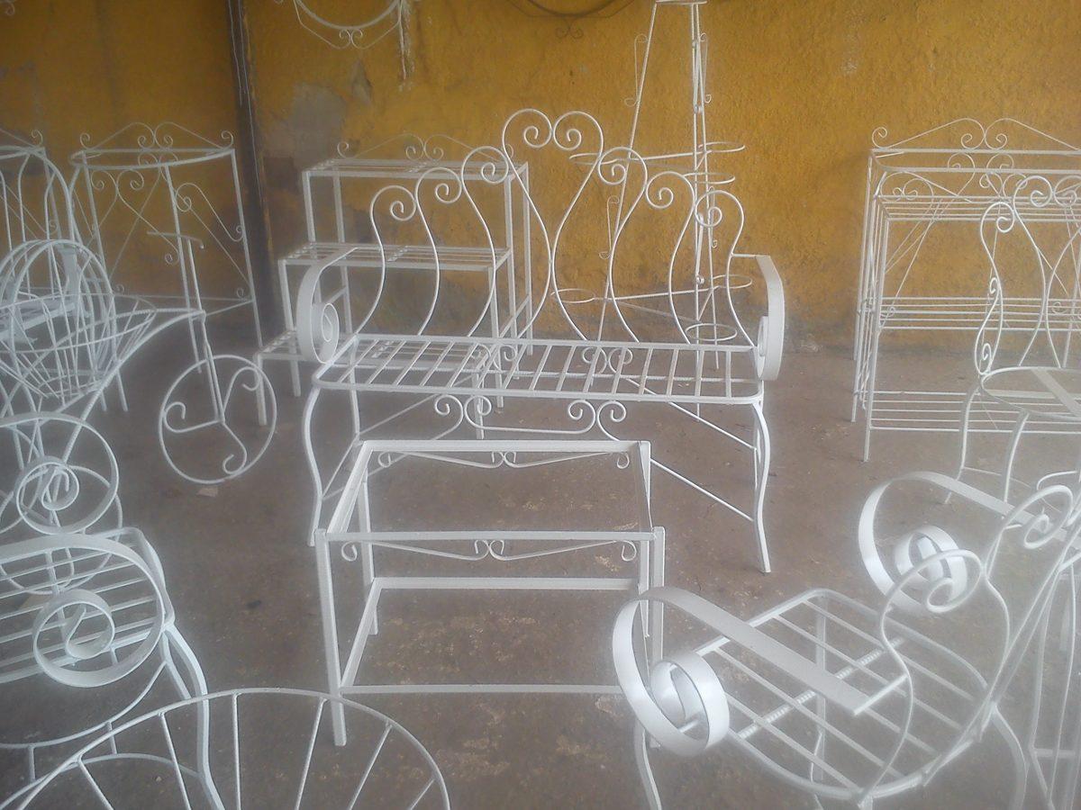 Stunning juegos de jardin hierro fundido ideas amazing for Muebles para jardin