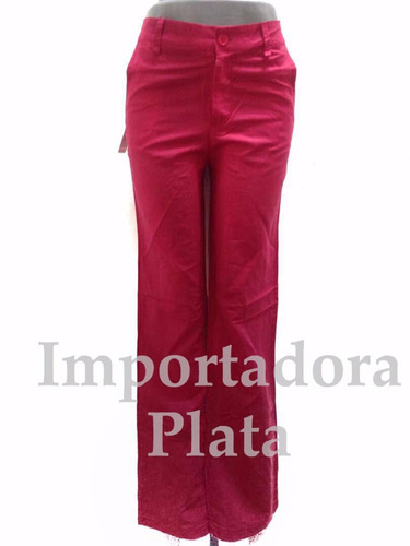 bellos pantalones de vestir tela de lino para dama