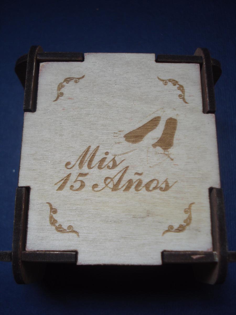 Bellos recuerdos cajas en madera 15 anos bs - Donde conseguir cajas de madera ...