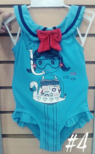 bellos trajes de baño para niñas