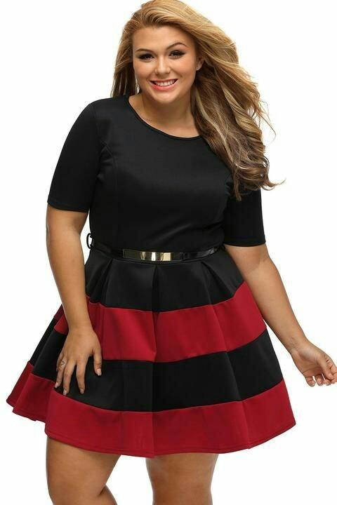 363d4b56039f Bellos Vestidos Para Gorditas La Casa Dell Shopping - S/ 160,00 en ...