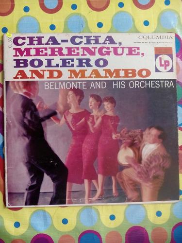 belmonte lp usa  cha-cha,merengue,bolero & mambo
