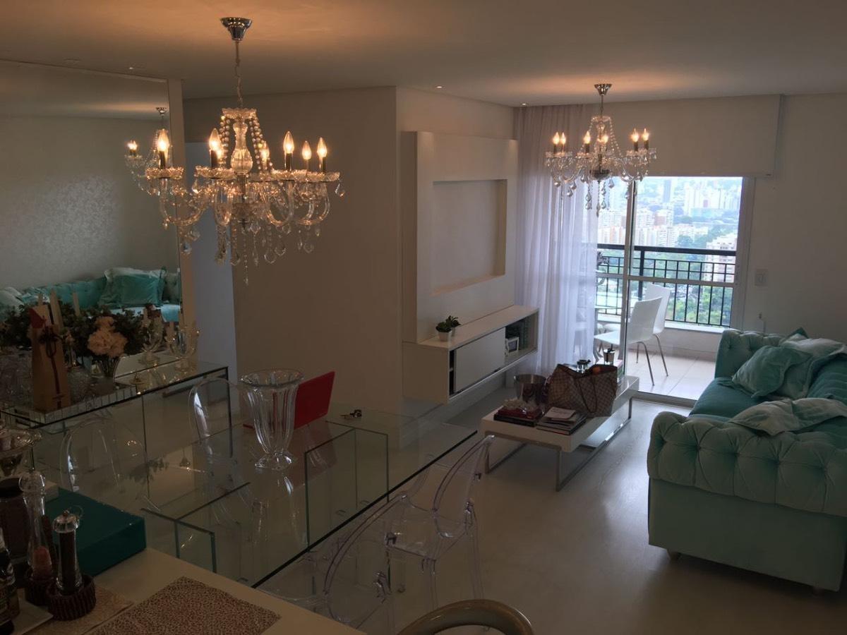 belo apartamento com 3 dorms - jd pq morumbi - cod. 78082