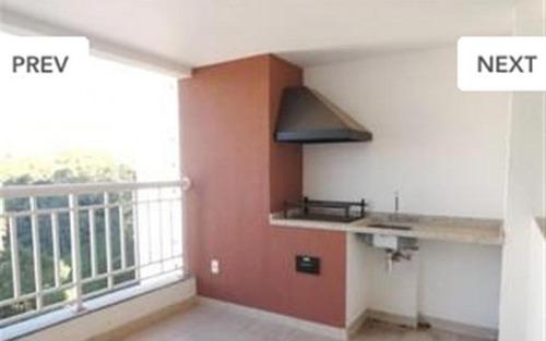 belo apartamento com churrasqueira privativa bem localizado no morumbi