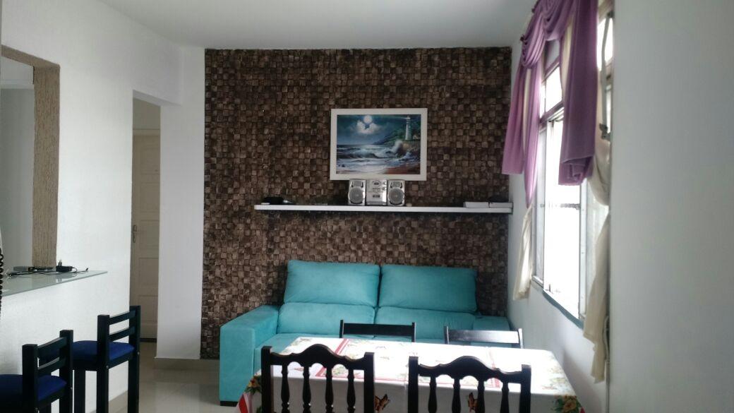 belo apartamento  com vista p/ o mar, 2 dorm 1 vaga garagem
