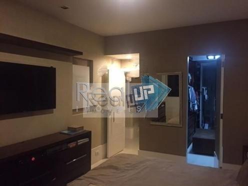 belo apartamento com vista total lagoa  de 4 quartos com vaga!!! - 13881