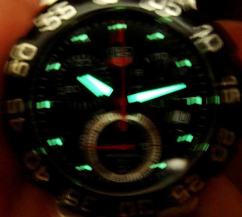 belo tag heuer suíço chrono formula 1 modelo ref.: cah1110