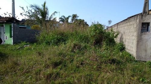 belo terreno no jardim palmeiras, em itanhaém - ref 3102