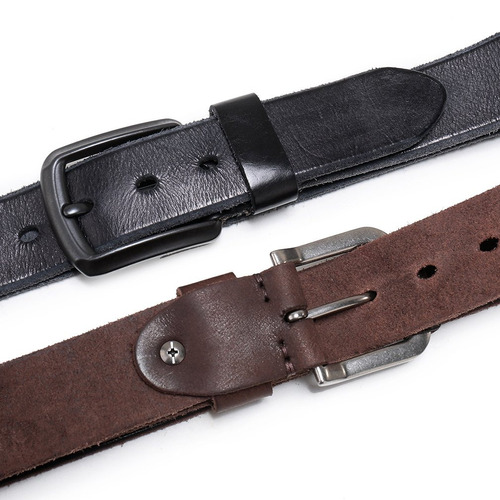 beltho fine men's grain 1 1-2 -inchitalian leather belt with