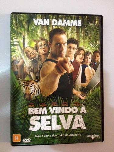 bem vindo à selva dvd - van damme
