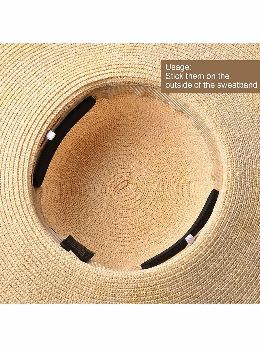 Bememo 20 Piezas Sombrero Tamaño Reductor Cinta De Espuma De ... c2104aa65f0