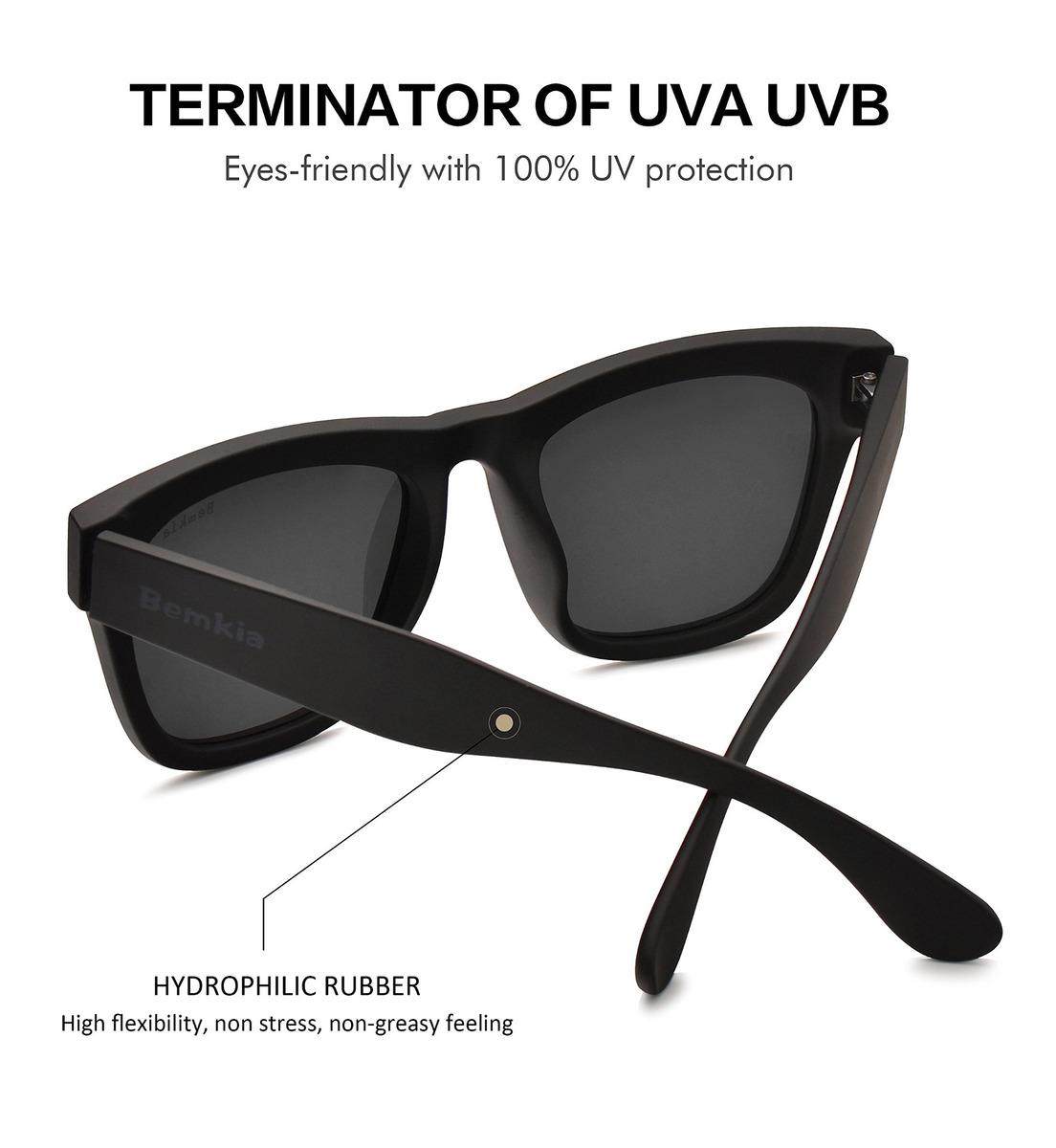 Sol Polarizadas Gafas De Bemkia 58mm Mujeres Marc Hombres 4Lq5AjRc3