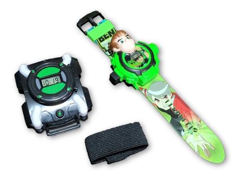 ben 10 - 2 brinquedos relógio omnitrix e relógio projetor