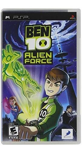 ben 10 alien force sony psp