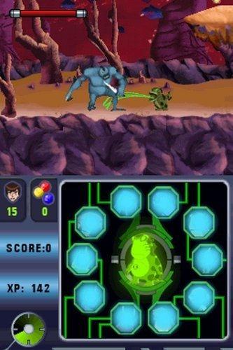 ben 10 alien force vilgax ataca a nintendo ds