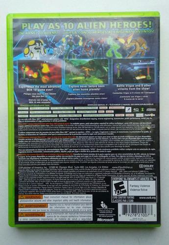ben 10 alien force vilgax attacks xbox 360 garantizado!! :)