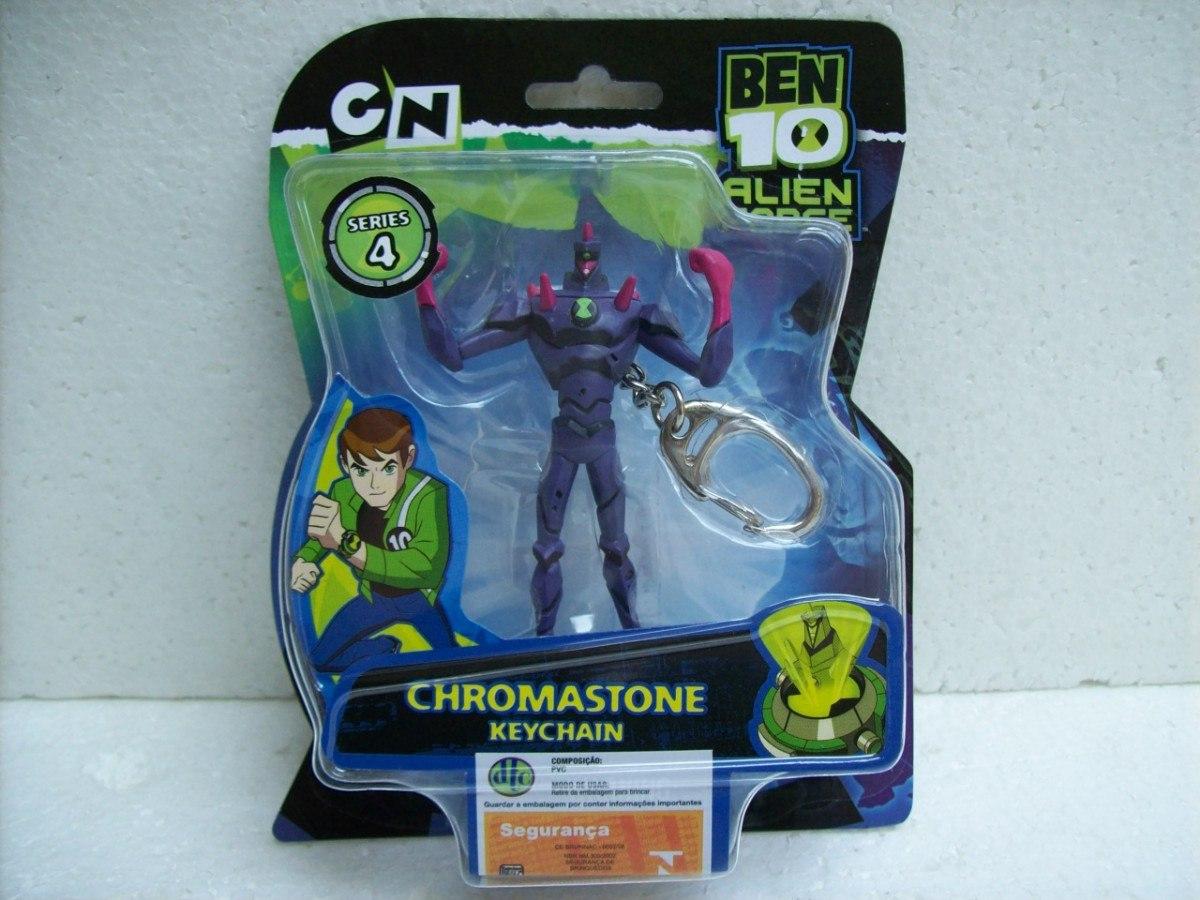 ben 10 brinquedo antigo boneco chromastone alien cartoon r 56 00