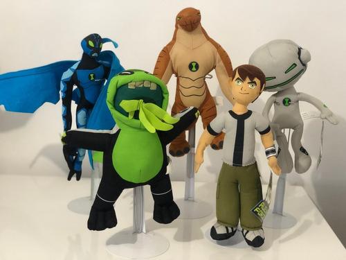 ben 10 de 30 cms serie 7 personajes $1640.00 dni