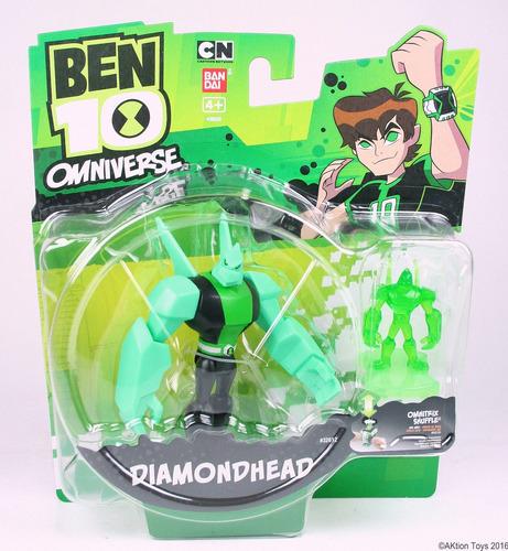 ben 10 diamante con figura de gel jugueteria  bunny toys