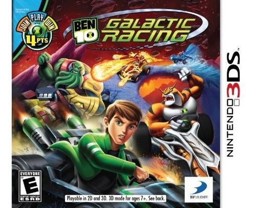 ben 10 galactic racing nintendo 3ds