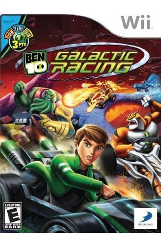 ben 10 galactic racing  nintendo wii
