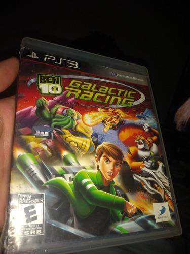 ben 10 galactic racing playstation 3