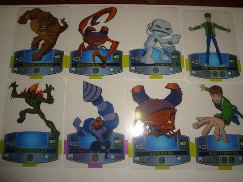 ben 10  laminas cards sobre importados  3 sobres  x 33 soles