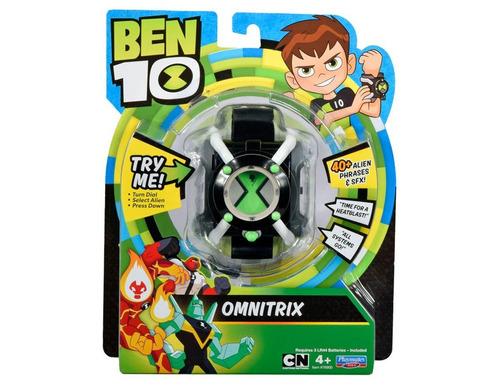 ben 10 - omnitrix - reloj español