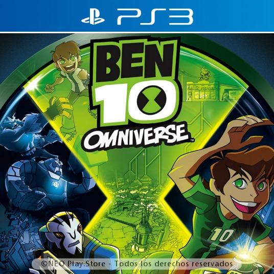 Ben 10 Omniverse Juego Ps3 Nuevo Completo Original Ninos 499