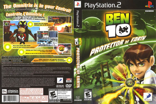 ben 10 - protector of the earth  /  playstation 2 /  ps2