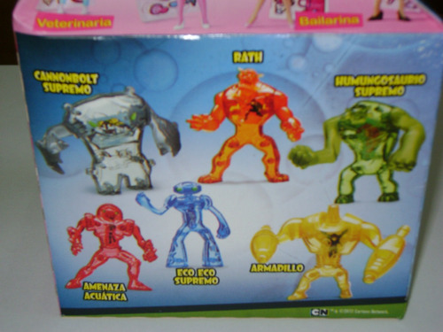 ben 10 ultimate alien amenaza acuàtica mc donalds 2012